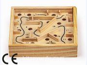 Montessori Ahşap Zeka Oyunları / w-Ball Maze