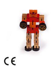 Montessori Ahşap Zeka Oyunları / w-Motion Robot