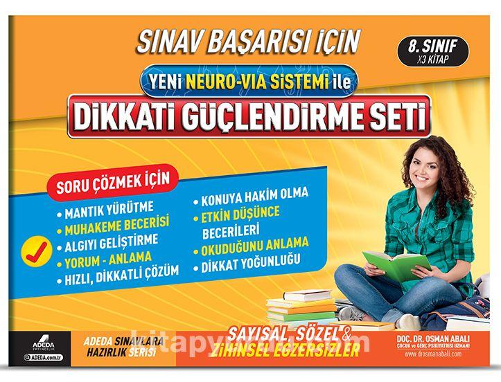 Dikkati Güçlendirme Seti (8. Sınıf 14 Yaş) - Doç. Dr. Osman Abalı pdf epub