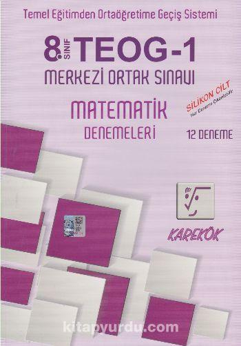 8. Sınıf TEOG 1 Matematik Denemeleri (12 Deneme) - Kollektif pdf epub