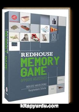 Redhouse Memory Game - Opposite Adjectives & Hafıza Oyunu - Karşıtanlamlı Sıfatlar