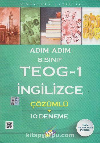 8. Sınıf TEOG 1 İngilizce Çözümlü 10 Deneme