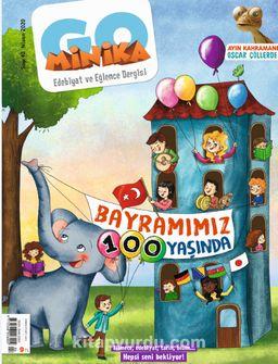 minikaGO Aylık Çocuk Dergisi Sayı: 40 Nisan 2020