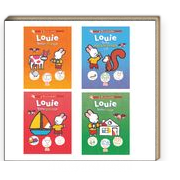Louie Etkinlik Dizisi (4 Kitap)
