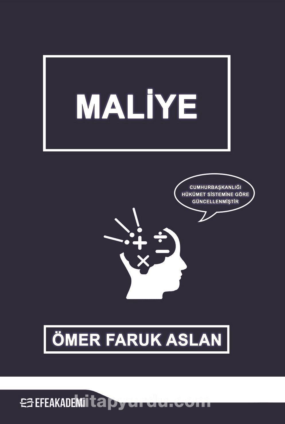 Maliye - Ömer Faruk Aslan pdf epub