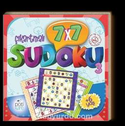 7x7 Çıkartmalı Sudoku 3