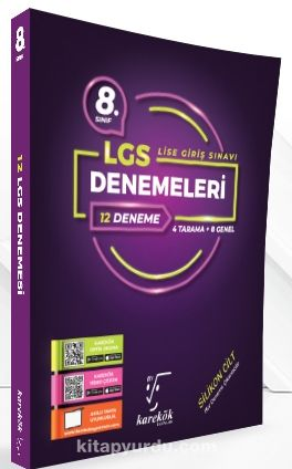 8. Sınıf LGS 12'li Deneme Seti (4 Tarama + 8 Genel) - Kollektif pdf epub