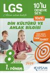 LGS Din Kültürü ve Ahlak Bilgisi 10'lu Deneme Seti (1. Dönem)