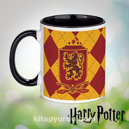 Porselen Kupa - Harry Potter - Quidditch Gryffindor (BK-HP115) Lisanslı Ürün