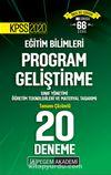 2020 KPSS Eğitim Bilimleri Program Geliştirme, Sınıf Yönetimi, Öğretim Teknolojileri ve Materyal Tasarımı Tamamı Çözümlü 20 Deneme