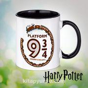 Porselen Kupa - Harry Potter - Platform  (BK-HP106) Lisanslı Ürün