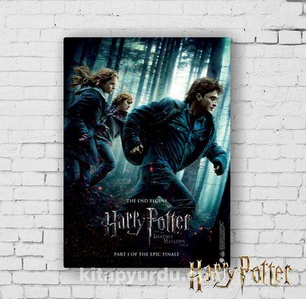 Ahşap Poster - Harry Potter - Deathly Hallows Part1 (BK-HP092) Lisanslı Ürün