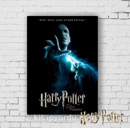 Ahşap Poster - Harry Potter - Lord Voldemort (BK-HP095) Lisanslı Ürün