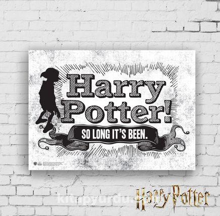 Ahşap Poster - Harry Potter - Dobby (BK-HP096) Lisanslı Ürün