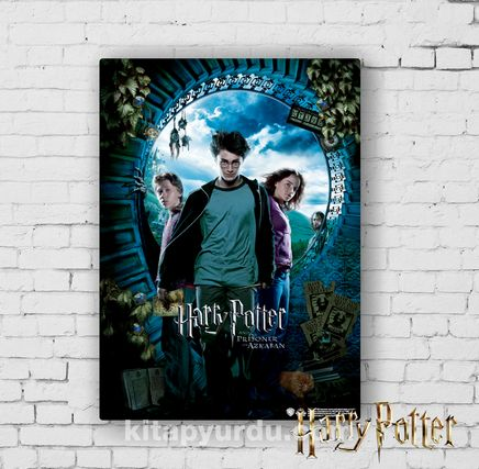 Ahşap Poster - Harry Potter - Prisoner of Azkaban (BK-HP082) Lisanslı Ürün