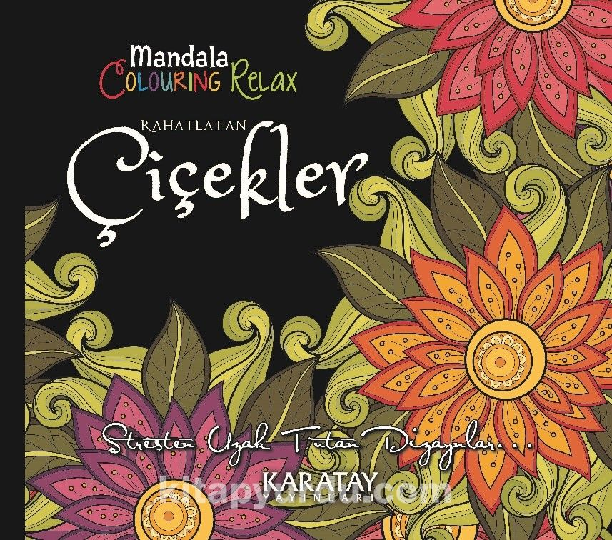 Mandala Colouring Relax Rahatlatan Çiçekler -  pdf epub
