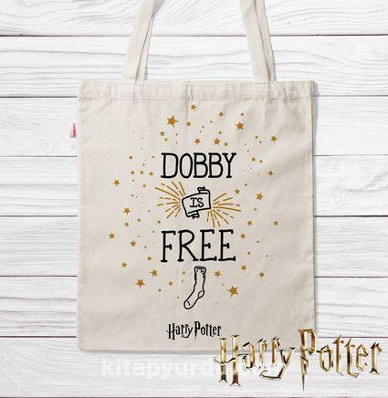 Askılı Bez Çanta - Harry Potter - Dobby (BK-HP121) Lisanslı Ürün