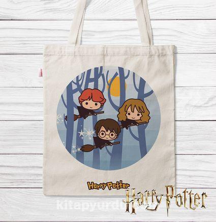 Askılı Bez Çanta - Harry Potter - Friends (BK-HP118) Lisanslı Ürün