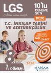 LGS T.C. İnkılap Tarihi ve Atatürkçülük 10'lu Deneme Seti (1. Dönem)