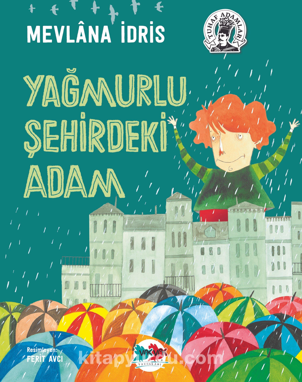 Yağmurlu Şehirdeki Adam (Karton Kapak) - Mevlana İdris pdf epub