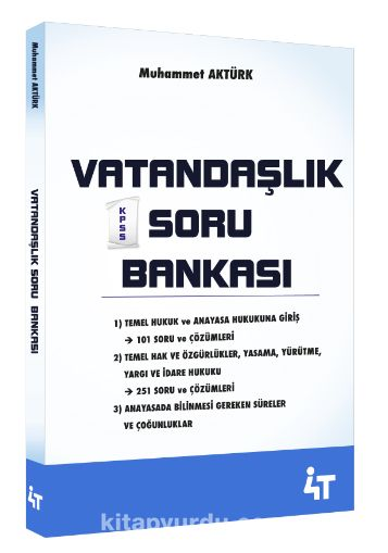 Vatandaşlık Soru Bankası - Muhammet Aktürk pdf epub