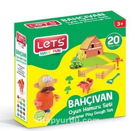 Lets Oyun Hamuru Bahçivan Seti 20 Parça - (L9107)