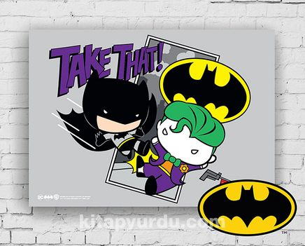 Ahşap Poster - Batman - Take That (BK-BT163) Lisanslı Ürün