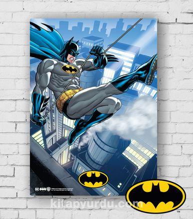Ahşap Poster - Batman - Bat - Glider (BK-BT159) Lisanslı Ürün