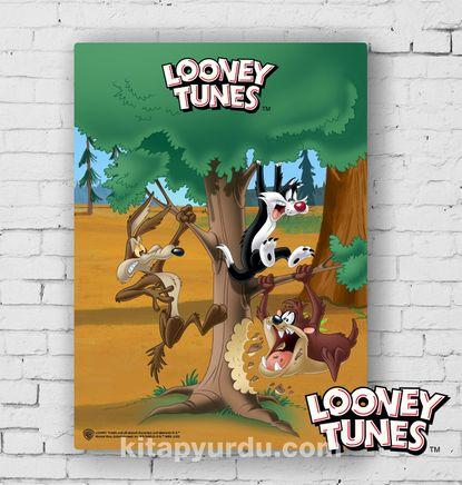 Ahşap Poster - Looney Tunes - In the Jungle (BK-LT173) Lisanslı Ürün