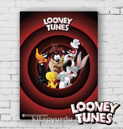 Ahşap Poster - Looney Tunes - That's All Folks (BK-LT169) Lisanslı Ürün