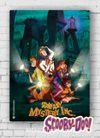 Ahşap Poster - Scooby Doo - Mystery (BK-SD148) Lisanslı Ürün