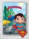 Ahşap Poster - Superman - Chibi (BK-SM168) Lisanslı Ürün
