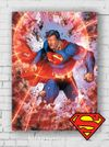 Ahşap Poster - Superman - X-ray Vision (BK-SM164) Lisanslı Ürün