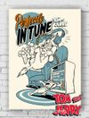 Ahşap Poster - Tom&Jerry - Perfectly in Tune (BK-TJ156) Lisanslı Ürün