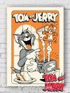 Ahşap Poster - Tom&Jerry - Jerry Toast (BK-TJ155) Lisanslı Ürün
