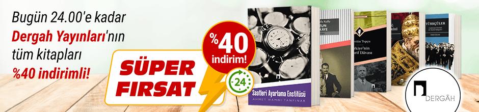 Bugüne Özel Dergah Yayınları %40 indirimli!