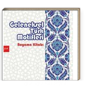 Geleneksel Türk Motifleri Mandala Boyama Gülizar çilliyüz