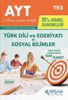 AYT Türk Dili ve Edebiyatı-Sosyal Bilimler 10'lu Deneme Seti