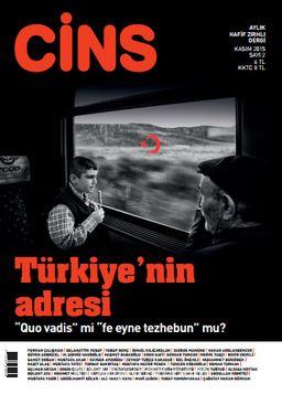 Cins Aylık Kültür Dergisi Sayı:2 Kasım 2015