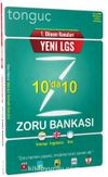 1. Dönem Konuları Yeni LGS 10'da 10 Zoru Bankası
