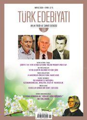 Türk Edebiyatı Aylık Fikir ve Sanat Dergisi Sayı: 559 Mayıs 2020