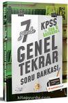 KPSS Lise Önlisans 7 Günde Genel Tekrar Soru Bankası