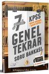 KPSS Genel Yetenek Genel Kültür 7 Günde Genel Tekrar Soru Bankası