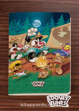 Looney Tunes - Camping - Dokun Hisset Serisi (AD-LT008) Lisanslı Ürün (Cep Boy) Lisanslı Ürün