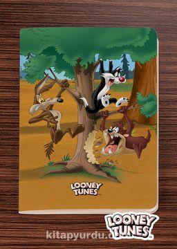 Looney Tunes  - In the Jugle - Dokun Hisset Serisi (AD-LT007) Lisanslı Ürün (Cep Boy) Lisanslı Ürün