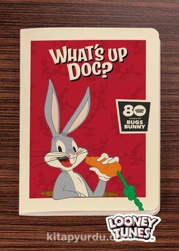 Looney Tunes - 80 Years of Bugs Bunny - Dokun Hisset Serisi (AD-LT001) Lisanslı Ürün (Cep Boy) Lisanslı Ürün