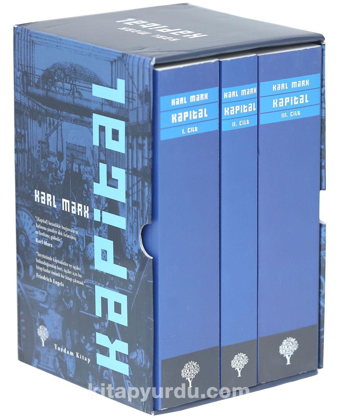 Kapital Set 3 Cilt (Karton Kapak) - Karl Marx pdf epub