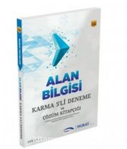 Alan Bilgisi Karma 5'li Deneme ve Çözüm Kitapçığı