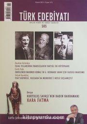 Türk Edebiyatı / Aylık Fikir ve Sanat Dergisi Sayı:505 Kasım 2015