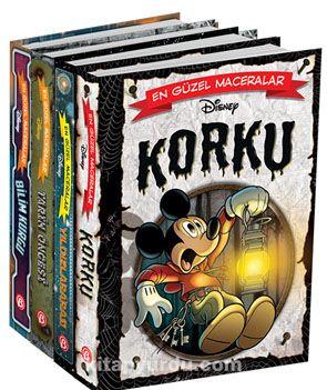 Disney En Güzel Maceralar Serisi Çizgi Roman Seti ( 4 Kitap) - Kollektif pdf epub